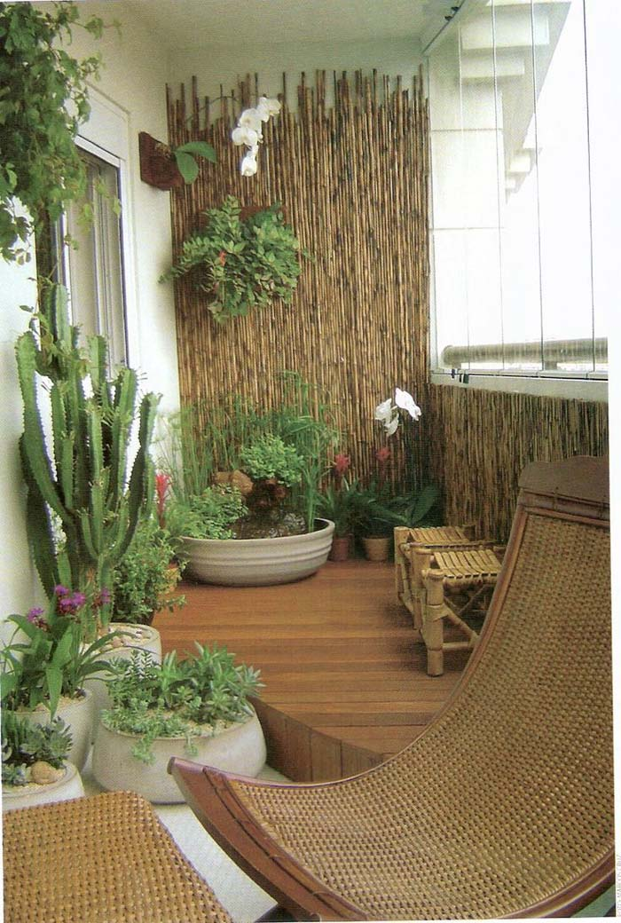Private Cabana #balconygarden #decorhomeideas