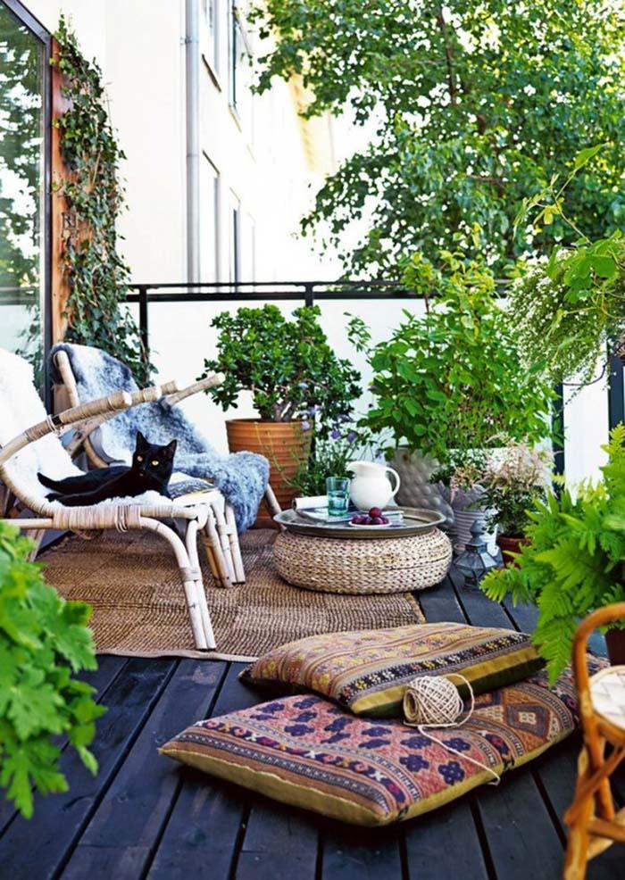 Private Oasis #balconygarden #decorhomeideas