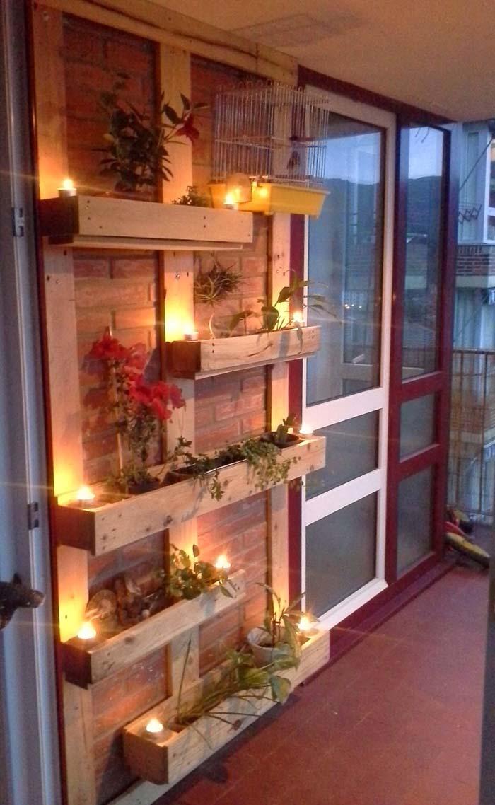 Scrap Wood #balconygarden #decorhomeideas
