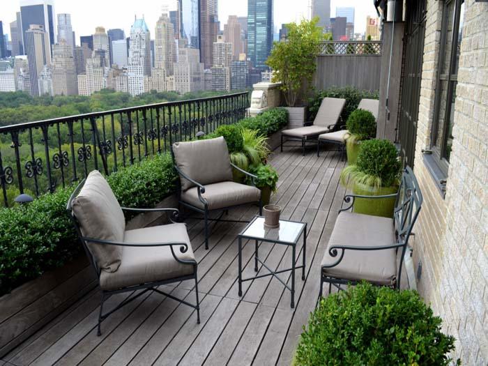 Serenity Garden #balconygarden #decorhomeideas