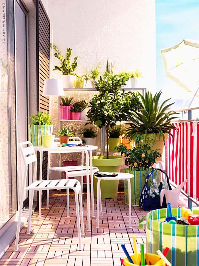 Sunny Side #balconygarden #decorhomeideas