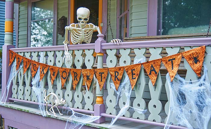 64. Why Don't You Join Us? #frontporch #halloween #decorhomeideas